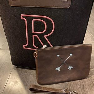 New purse wristlet and rubie mini pouch